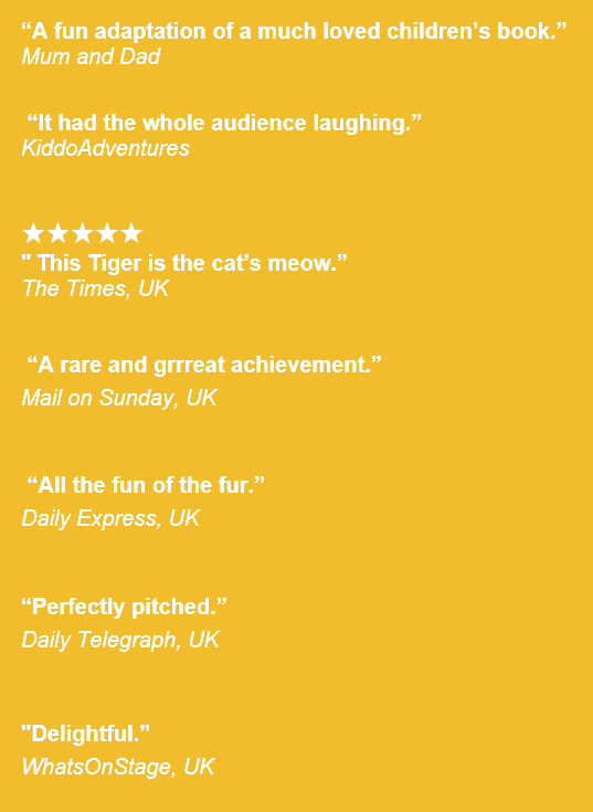 Kidsfest > THE TIGER WHO CAME TO TEA